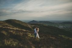 I would like to do this shot only on top of the mountains with my veil catching the wind.