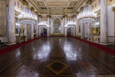Palazzo Reale Turin - salle de bal du Palais Royal