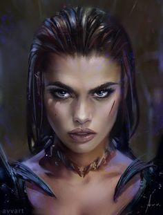 Ideas Fantasy Art Warrior Character Inspiration Illustrations For 2019 Fantasy Girl, Foto Fantasy, Fantasy Kunst, Dark Fantasy, Fantasy Portraits, Character Portraits, Character Art, Character Concept, Fantasy Inspiration