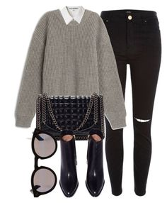 Untitled #6315 by laurenmboot on Polyvore featuring polyvore, fashion, style, Acne Studios, River Island, Zara, Illesteva and clothing