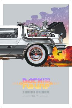 Ático Galáctico: Back To The Future Posters