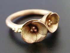 Cast Poppies, Rose Gold