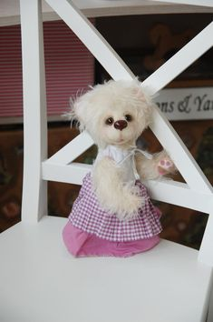 Artist bear Stefanya Toys & Games Stuffed by OlenaTeddyBears
