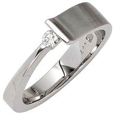 Damen Ring 585 Gold Weißgold 1 Diamant Brillant 0,07ct. Weißgoldring Gr.50-60 http://www.ebay.de/itm/Damen-Ring-585-Gold-Weissgold-1-Diamant-Brillant-0-07ct-Weissgoldring-Gr-50-60-/152602161696?ssPageName=STRK:MESE:IT