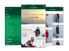 Lacoste Ecommerce Consept App
