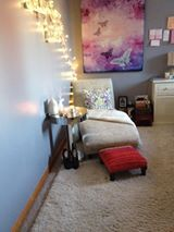 My peaceful sanctuary!!! Studying for University exams has never been cozier! :D