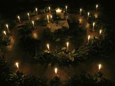 advent spiral for winter solstice Wiccan, Magick, Witchcraft, Altar Decorations, Winter Decorations, Large Candles, Led Candles, Kids Lighting, Winter Solstice