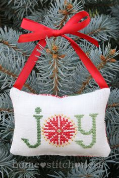 A Kiwi Christmas Decoration Freebie... - homestitchness