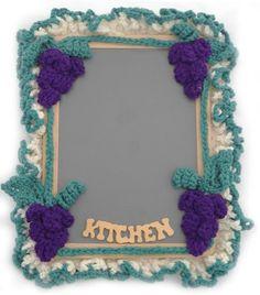 Maggie's Crochet · Grape Chalkboard Free Pattern
