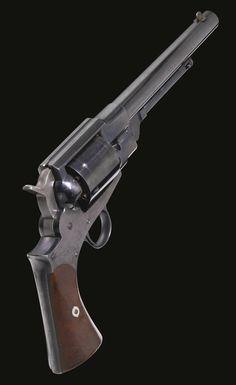 Austin T. Freeman Patent Army Revolver, Watertown, New York, Serial No. 379, circa 1863