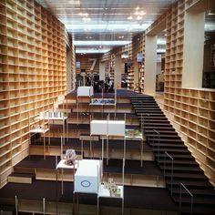 Musashino Art University Library - Sou Fujimoto