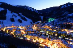 Beaver Creek, CO - Pricey and elitist? Ok, maybe a little. World class skiing and vistas? Definitely. Birds of Prey will make your legs sore.