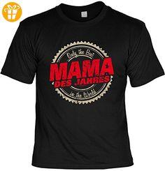 T-Shirt für Mama zum Geburtstag und Muttertag, Sprücheshirt, Shirt, Funshirt - Only the Best in the World Mama des Jahres (*Partner-Link)