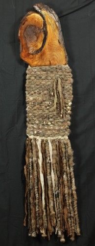 Wall Hanging - River Mud - Hand Woven Something like this is what I am looking for my gallery! Tapestry Weaving, Loom Weaving, Hand Weaving, Textiles, Lana, Knitting, Wall Hangings, My Style, Mud
