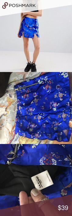 Jaded London skirt Women's Mini Skirt In Metallic Brocade jaded london Dresses