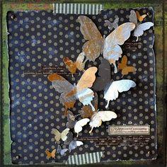 Gypsies Journal: diy  Butterfly Art