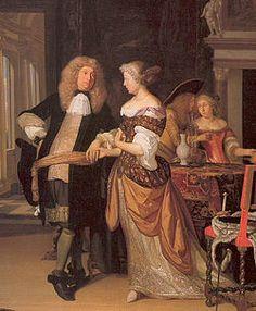 Gentilhomme portant un manteau, une veste et des hauts-de-chausses, 1678
