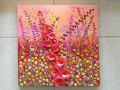 Such pretty artwork, and now sold internationally too :-) #JulieRyder #mixedmedia
