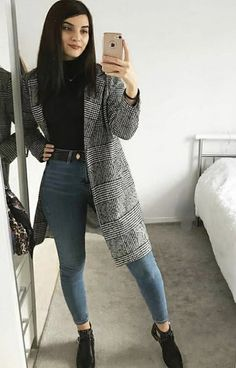 Business Casual Outfits, Casual Winter Outfits, Winter Fashion Outfits, Simple Outfits, Classy Outfits, Look Fashion, Stylish Outfits, Fall Outfits, Fashion Women