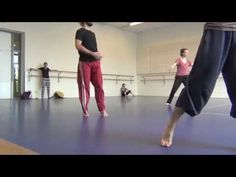 A back shoulder roll in modern dance can begin laying down, sitting down, or standing up. Learn a back shoulder roll with tips from a professional dancer in ...