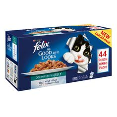 Felix As Good As It Looks Ocean Feast Pouches