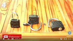 A savoir : vos cadenas sont faciles à ouvrir sans les clefs !!!