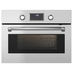 SMAKSAK stainless steel, Microwave combi with forced air - IKEA Cooking Dishes, Cooking Time, Slow Cooking, Combi Oven, Backsplash Panels, Ikea Family, First Kitchen, Ikea Home, Micro Onde