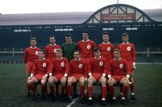"""""""That football kit is LIVERPOOL red. What a team, what a kit. Best Football Team, Football Kits, Sport Football, Liverpool Fc Team, Liverpool History, Squad Photos, Team Photos, Roger Hunt, This Is Anfield"""