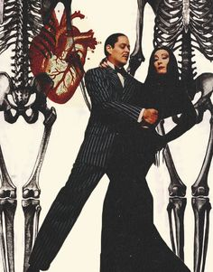BROTHERTEDD.COM - ablogfortherecentlydeceased: When we first met... Dirty Dancing, Best Love Stories, Love Story, Pulp Fiction, Manado, Morticia And Gomez Addams, Billy Mandy, Anjelica Huston, Cinema