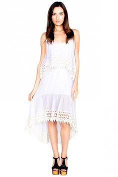 Embroidered Misha Dress