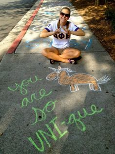 Bid Day! Delta Phi Epsilon at Kennesaw State University