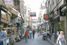 "Arax Street, ""Little Armenia,"" in Bourj Hammoud, Beirut, Lebanon."