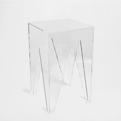 METHACRYLATE STOOL - Occasional Furniture - Bedroom - Home Collection - SALE | Zara Home United States