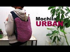 Mochila Urban a crochet - YouTube