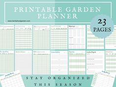 Use this Garden Planner for a fantastic gardening season
