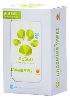 PL360 Grooming Wipes Mandarin 80ct Value Pack *** You can get more details by clicking on the image.