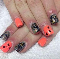 Camo nails! To do