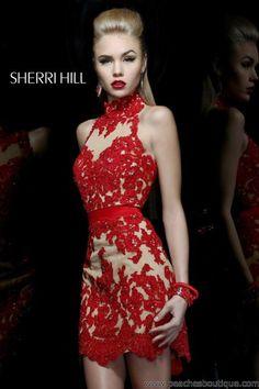 Sherri Hill Short Dress 21213 at Peaches Boutique