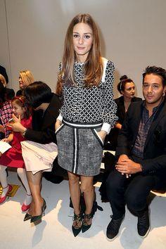 Front Row semanas de la moda Paris primavera verano 2014