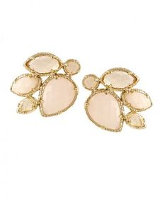 Love these Kendra Scott earrings. Light pink and gorgeous!