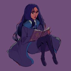 Arte de ChaseFox Reminds me of Rowan from Hogwarts Mystery Harry Potter Artwork, Harry Potter Wizard, Harry Potter Drawings, Harry Potter Anime, Harry Potter Hogwarts, Ravenclaw, Body Reference Drawing, Hogwarts Mystery, Fantastic Beasts