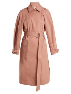 7ad6ce10f3f3 Weston tie-waist cotton-blend trench coat | Elizabeth And James |  MATCHESFASHION.