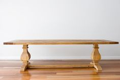Individually handcrafted Dining Table made from Recycled/Reclaimed pine timber sourced from old farms, bridges and timber yards. This is the one!