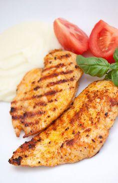 Orange, Mustard, Worcester Sauce Grilled Turkey Steak Recipe