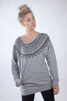 Sweatshirt with print by Lopidesign on Etsy, kr899.00