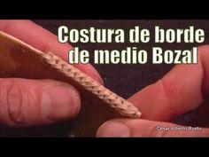 """Costura de borde de medio bozal """"El Rincón del Soguero"""""""