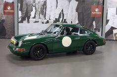 Porsche 911 SWB rally gerestaureerd Duell preparatie