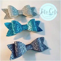 A personal favourite from my Etsy shop https://www.etsy.com/uk/listing/473277590/girls-grey-frozen-and-silver-hair-bow