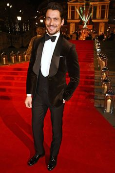 From David Gandy to Jared Leto, see the most stylish men on the red carpet at the Royal Albert Hall in London last night (and the labels they wore).
