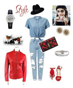 """I Want to be a Stylist"" by kikikoji on Polyvore featuring Topshop, Miss Selfridge, Qupid, Yves Saint Laurent, Jil Sander, Vacheron Constantin, Ippolita, Jamie Wolf and Gucci"
